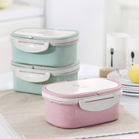 Microwave Food Container Lunch Box For School Japanese Soup Spoons Lunch Box Kids Rvs Kids Girl Containers Meal ALT0078 3