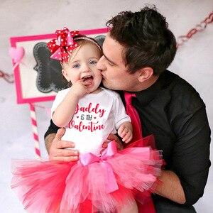 Детский комбинезон с коротким рукавом, на День святого Валентина