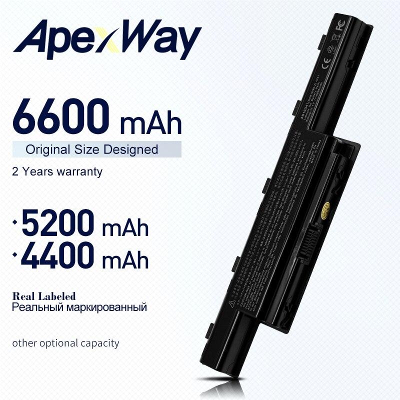 ApexWay Bateria Para Notebook Acer Aspire 4741 5741 4741G 5741G V3 V3-471G V3-771G V3-551G V3-571G E1-421 E1-431 E1-471 E1-531 E1-571