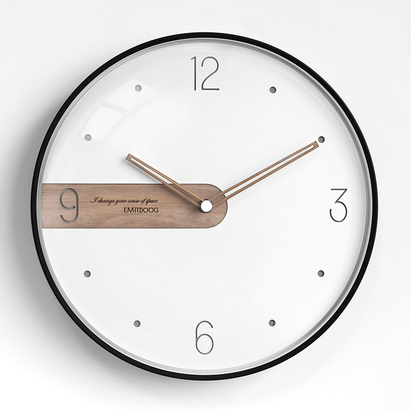 Large Nordic White Wall Clock Bedroom Modern Unique Wall Clocks Thick Watches For Kitchen Wall Home Decor Novelty Watch II50BGZ