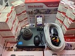 Комплект видеонаблюдения на 1 внутреннюю AHD камеру (KIT1AHD310S720P) для самостоятельного монтажа, удаленный доступ, XMEYE