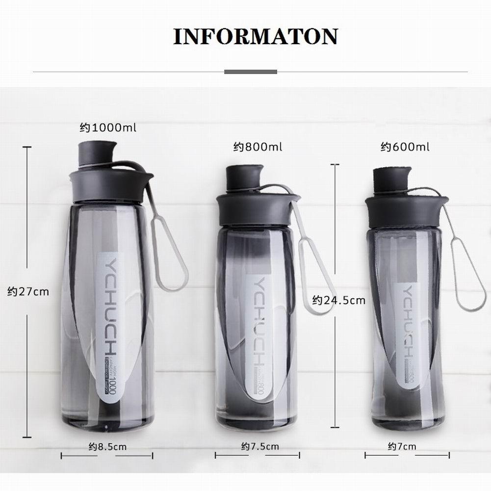 Герметичный Спорт Вода Бутылка Портативный 600% 2F800% 2F1000 Ml Большой Емкость Пищевой С Чай Фильтр Пространство Чашка