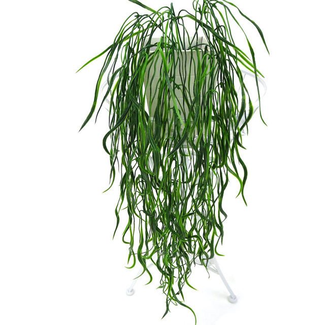 Artificial Plant Vines Wall Hanging Simulation Rattan Leaves Branches Green Plant Ivy Leaf Home Wedding Decoration Plant-Fall 6