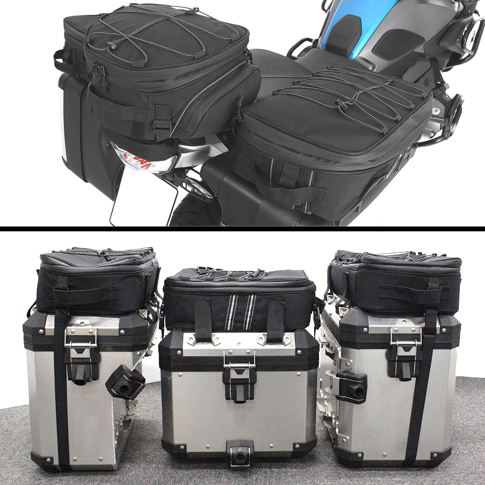 FOR BMW  R1250GS Fit Top Case Bag For All Original FOR BMW Aluminum Top Cases R1250GS LC ADV R1200GS F850GS F750GS  F800GS