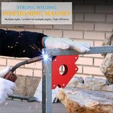 Magnetic Welding Corner Holder Positioner Soldering Locator for Welding Multi-Angle Magnetic Welding Magnet Holder 25/50/75LBS