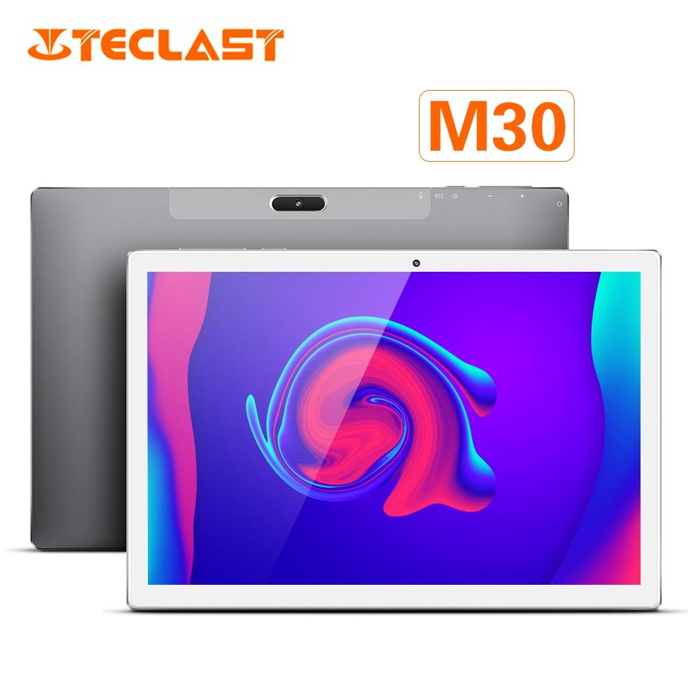 Teclast M30 10.1 pouces 4G Android 8.0 MT6797X (X27) 1.4GHz Decore CPU 3GB RAM 64GB ROM 5.0MP + 2.0MP type-c téléphone tablette PC