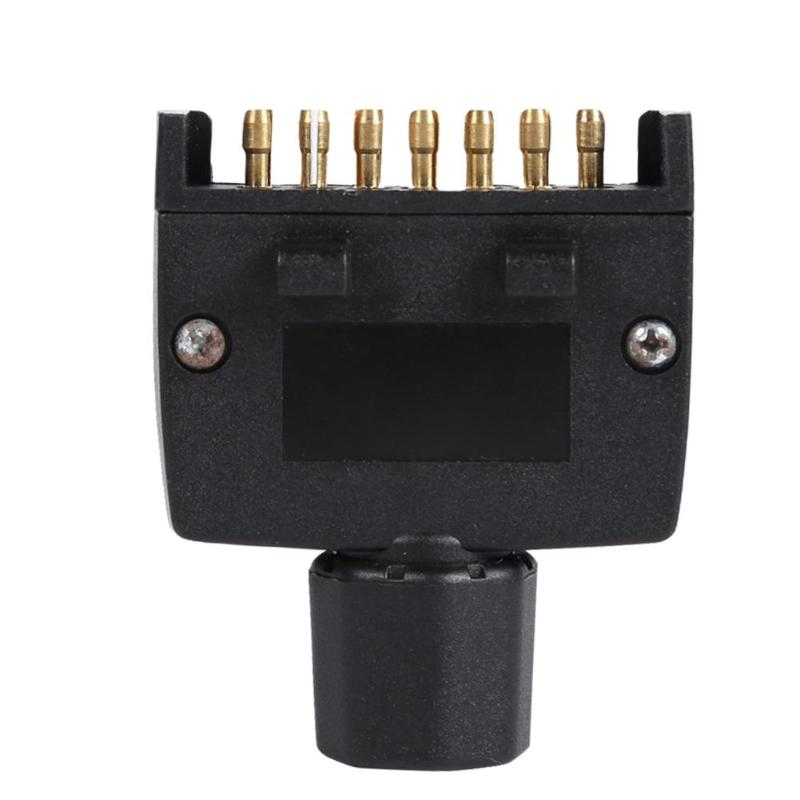 7 Pin AU Flat Male Trailer Socket Plug Connector Adapter For RV Trailer