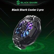 Original preto tubarão cooler 2 pro líquido pubg telefones ventilador de refrigeração inteligente funcooler para iphone redmi k40 pro blackshark 4/pro