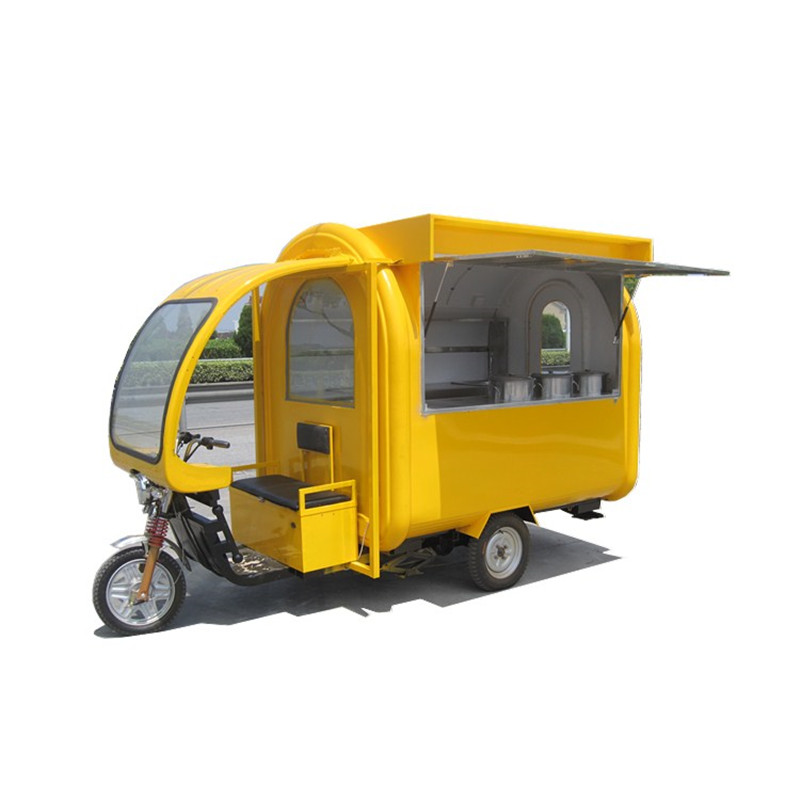 Electric Food Cart Electric Fast Food Cart Ice Cream Vending Trailer Street Snack Sale Truck
