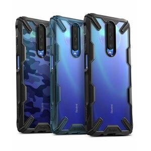 Image 1 - Ringke fusion x para xiaomi poco x2 case transparente pc duro moldura traseira macia tpu para redmi k30 cover