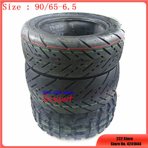 Image 1 - 11 inch 90/65 6.5 city Road Off road Tire Inflatable Tubeless Tyre for Dualtron Thunder Electric Scooter Speedual Plus Zero 11X