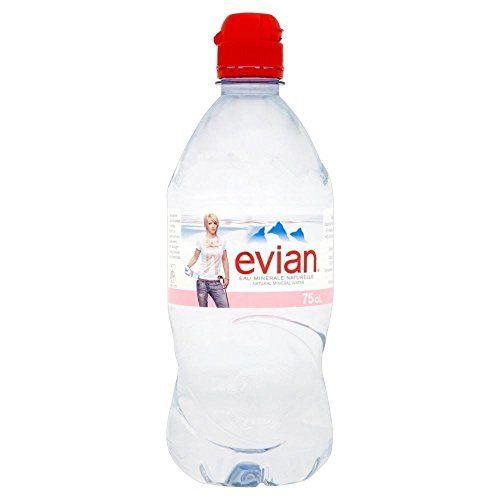Evian Acqua Minerale Naturale (750ml) (Confezione Da 2)