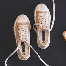 Кеды женские на плоской подошве, повседневные холщовые кроссовки, модная обувь, лето 2019