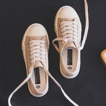 בד אופנה נעלי אישה 2019 קיץ חדש אופנה צבע נשים נעליים יומיומיות דירות בד נשים נעליים יומיומיות סניקרס