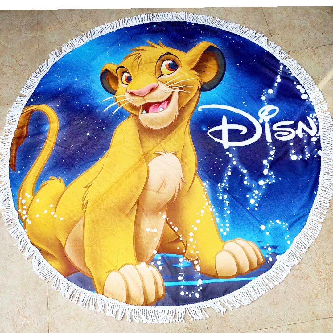 Disney Lion King Towel  printed new children beach bath towel