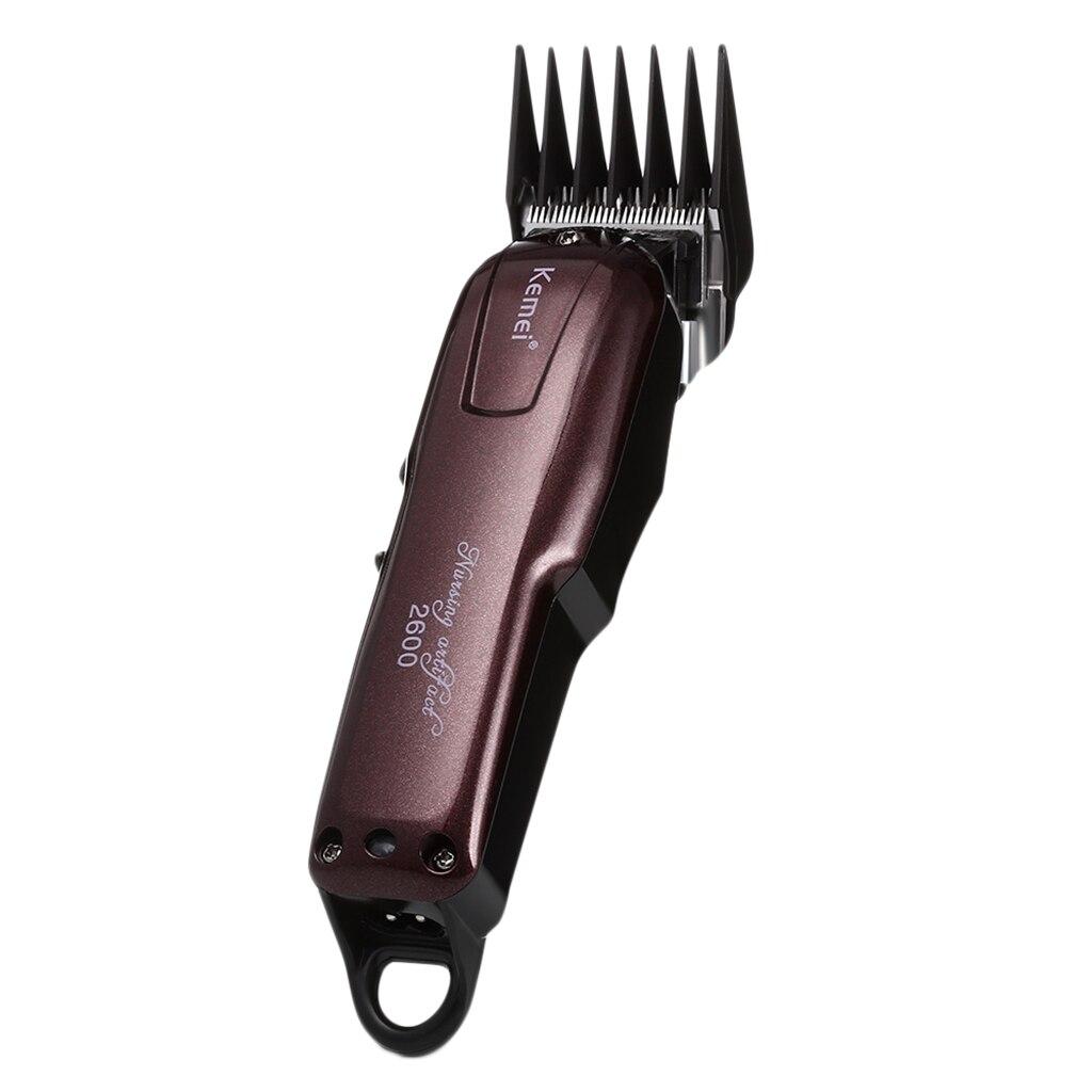 Masculino corte de cabelo elétrico clássico clipper