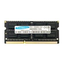 KANMEIQi DDR3 4GB Ram Laptop 8GB 1333Mhz 1600MHZ Memory Notebook Module PC3L-12800 SO-DIMM New 2GB 1.35V 204PIN all