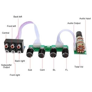 Image 3 - AIYIMA 5.1 アンププリアンプトーンボード 6 チャンネル独立したパッシブプリアンプトーンボリューム調整 5.1 ホームシアター
