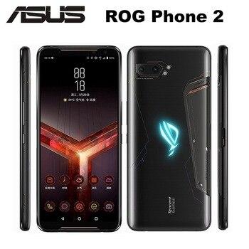 "NEW Asus ROG Phone II ZS660KL Mobile Phone 6.59"" 12GB ROM 1TB RAM Snapdragon855+ Dual SIM 6000mAh 48MP NFC Android9.0 ROG Phone2 1"