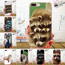 На Алиэкспресс купить чехол для смартфона soft tpu printing animal raccoon for huawei honor mate nova note 20 20s 30 5 5i 5t 6 7i 7c 8a 8x 9x 10 pro lite play