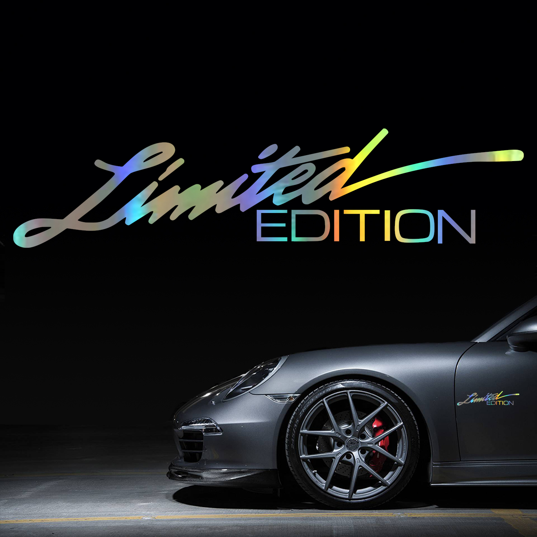 Автомобильная Наклейка 3D 16 см * 3,8 см, ограниченная серия, креативная виниловая наклейка на автомобиль s и наклейки на окно, наклейка для стай...