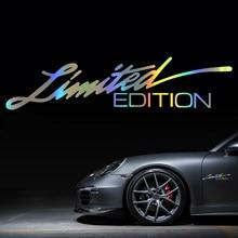 Etiqueta do carro 3D 16CM * 3.8 CENTÍMETROS de EDIÇÃO LIMITADA Adesivo de Adesivos de Carro e Decalques de Vinil Criativo Etiqueta Da Janela carro-styling Decal