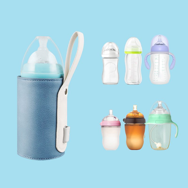 Universal Portable Bottle Insulation Cover USB Intelligent Temperature Control Heating Thermostat Case Baby Timing Milk Warmer