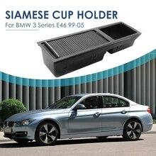 VODOOL Bandeja Compartimento De Armazenamento Center Console com Deslizamento Cegos Peças Do Carro Decoração para BMW Série 3 E46 Pessoal Ao Ar Livre