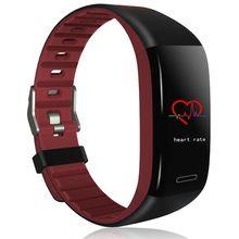 купить T30 Smart Bracelet Watch Heart Rate Monitoring Bluetooth Sports Mode Fitness Tracker Watch Sleep Pedometer Waterproof Bracelet дешево