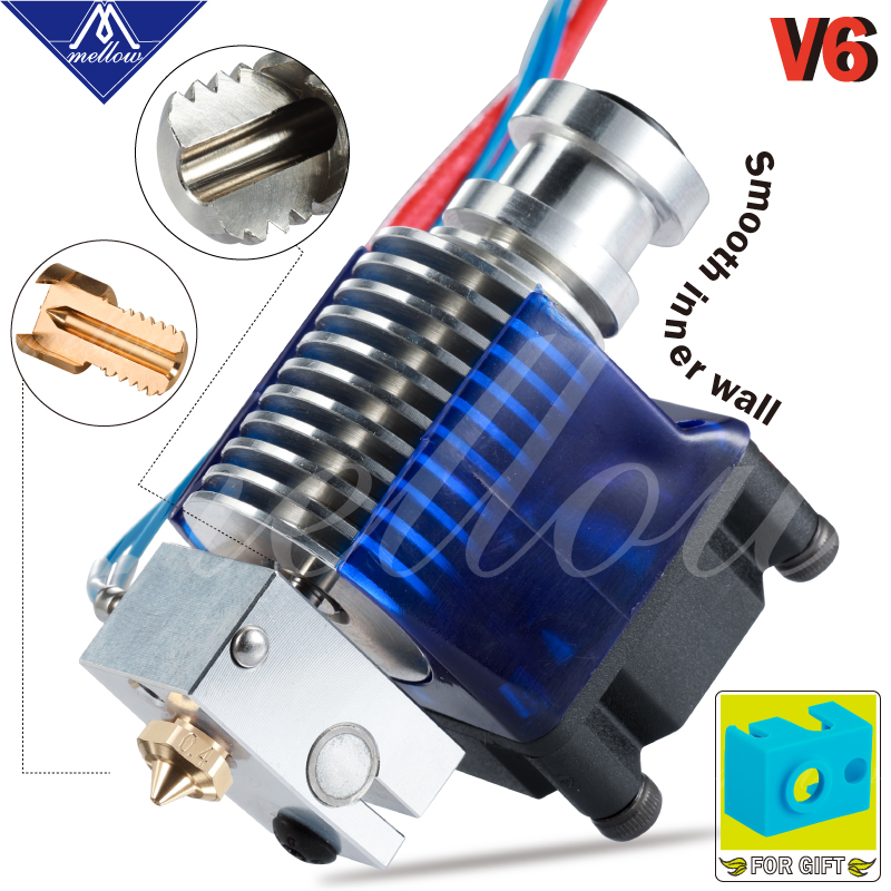 Mellow Top Quality All Metal V6 J Head Hotend Bowden Extruder Kit For E3d V6 Hotend Cooling Fan Bracket Block 3d Printers Parts Best Price Badc Cicig