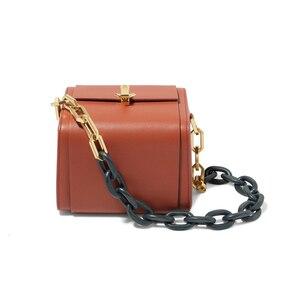 Image 5 - [BXX] Quality PU Leather Crossbody Bags For Women 2020 Box Shaped Shoulder Messenger Bag Lady Travel Handbags and Purses HJ716