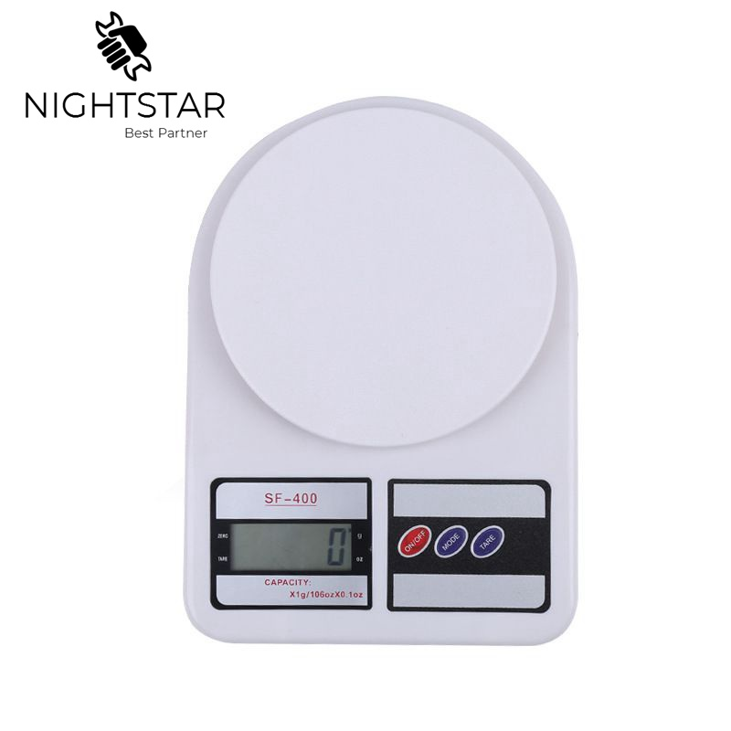 White 5kg//1g Digital Electronic Kitchen Scale Diet Postal//postage weight