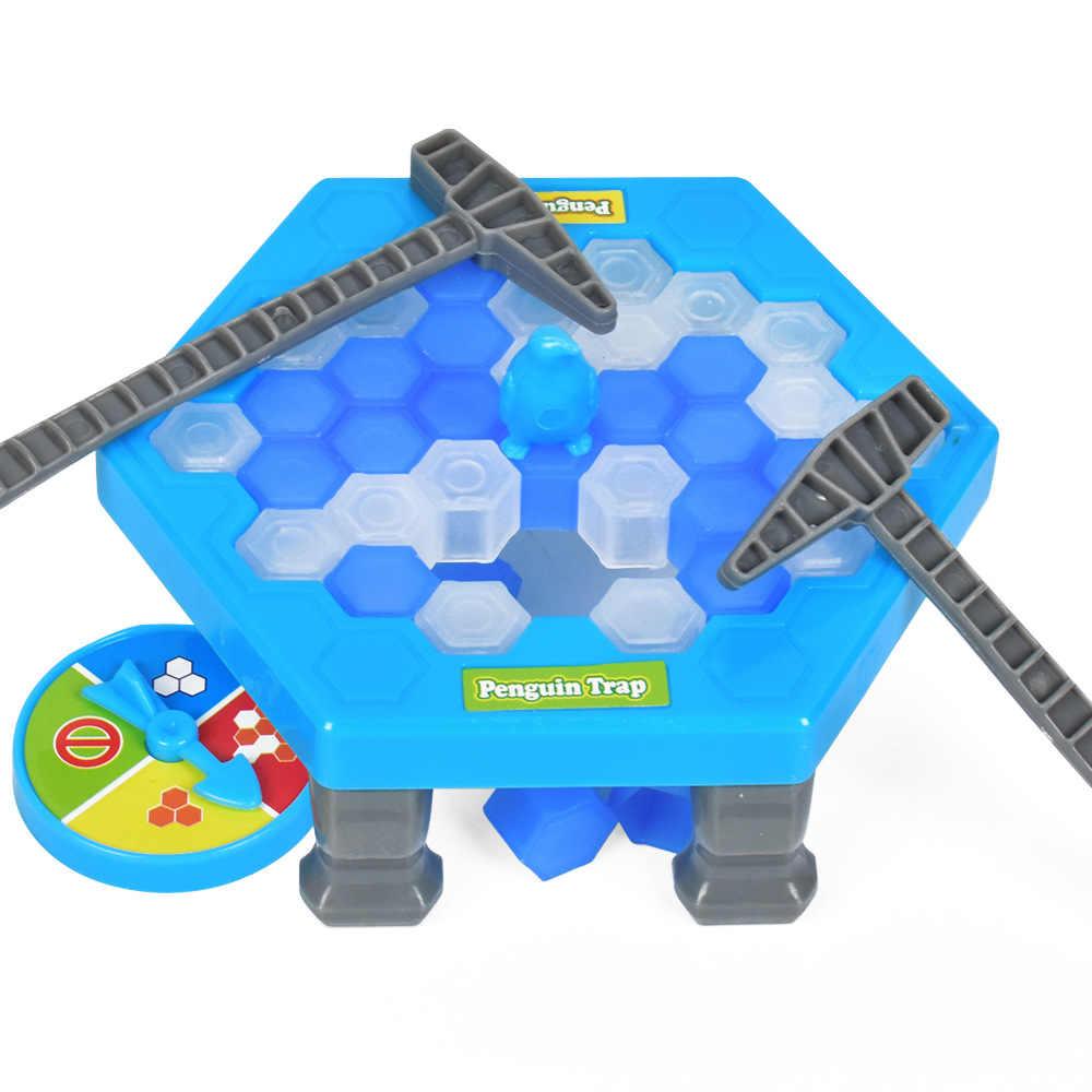 Мини-Пингвин ловушка настольная игра родитель-ребенок Интерактивные развлечения настольные игрушки снятие стресса игрушка для детей и взрослых настольная игра