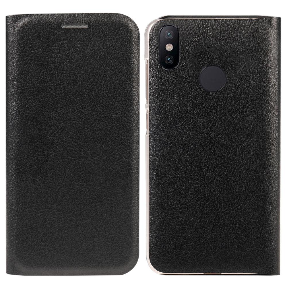 Image 2 - Flip Wallet Leather cover  Phone Case For Xiaomi Mi A2 6X Mi6X MiA2 A 2 6 X Xiami Xiaomi6X XiaomiA2 Credit Card Pocket Pochette-in Flip Cases from Cellphones & Telecommunications