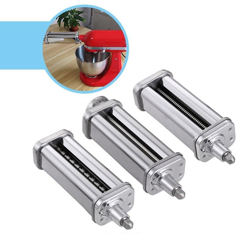 Neue Nudel Makers Teile Für Kitchenaid Fettucine Cutter Roller Befestigung Für Stand Mischer Küche Hilfe Pasta Küchenmaschinen