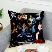 Elvis Presley Pillow Case Polyester Decorative Pillowcases Throw Pillow Cover style 2