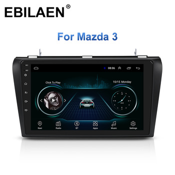 Car Multimedia Radio Player For Mazda 3 BK Mazda3 2004-2009 Android 8.1 Navigation Autoradio Tape Recorder GPS Video Stereo image