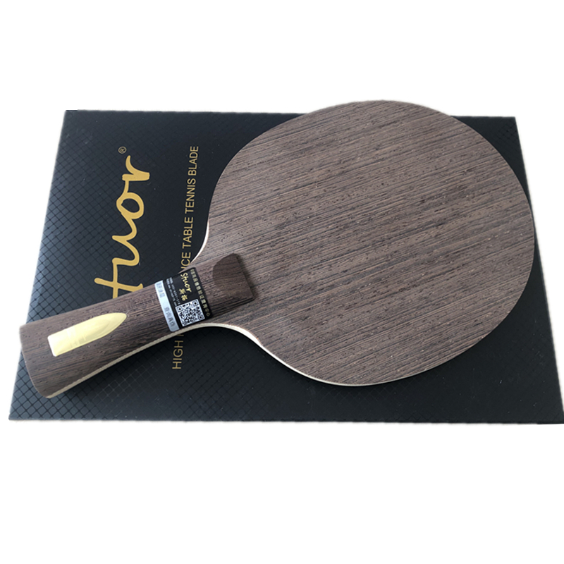 Stuor New High-END Red Bean Wood Table Tennis Racket  Wenge Nostalgic 7ply Pure Wood Table Tennis Paddle Table Tennis Blade OFF+