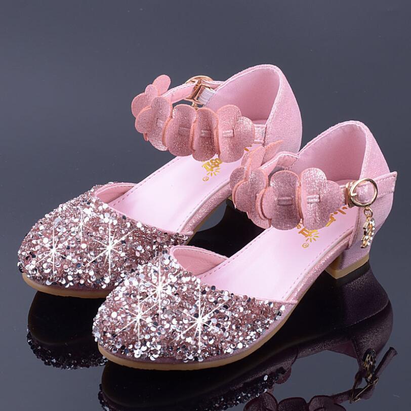 Online Shop New Children Princess Shoes