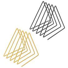 Shelf Magazine-Holder Rack Stand Book-Support Desktop-Storage Home-Decor Nordic Triangle-Shape