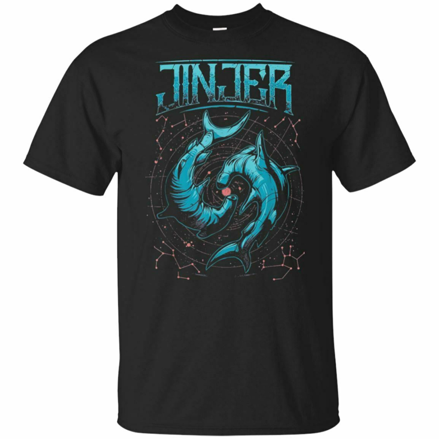 Jinjer T-Shirt For Men Short Sleeve Black T-Shirt Size S-5Xl New Unisex Funny Tops Tee Shirt