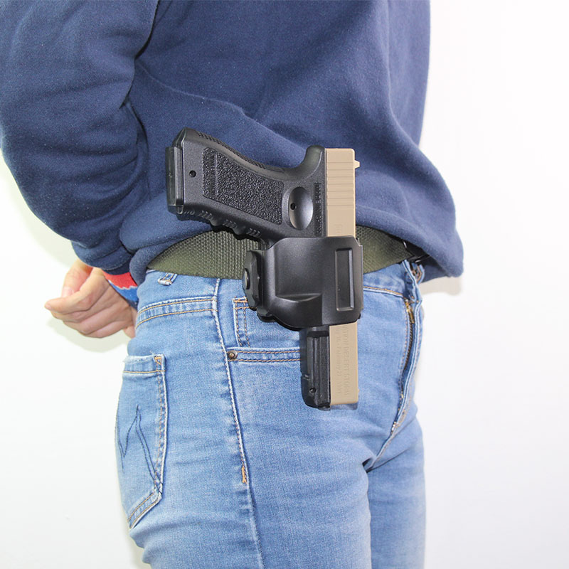 Tactical Gun Holster Clip for Glock 17 19 22 23 Pistol Holster Carry Quickly Draw Clip Airsoft Gun Case Hunting Accessories