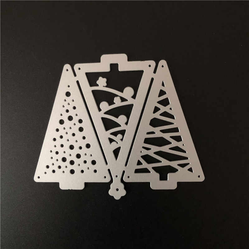 Christmas Tree Star Metal Cutting Dies Cuts Stencil for Scrapbooking/Embossing/Photo Album Decor/DIY Craft/Gift