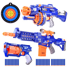 Toy Gun 6.5cm for Nerf Darts Soft Hollow Hole Head Bullets Refill Darts Toy Bullets Foam Safe Sucker Bullet for Nerf Boys Toys
