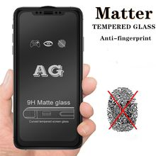 AG Matte 9H Tempered Glass for iphone 11 6s 7 8 Plus XR X XS SE 2020 12 pro max Mini frosted protective glass screen protector