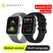 Global Versie Huami Amazfit Gts Smart Horloge Gps Smartwatch Hartslag 5ATM Waterdichte Zwemmen Sleep Tracking(China)