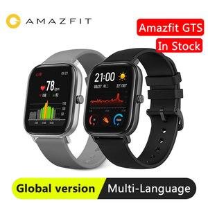 Image 1 - Reloj inteligente Huami Amazfit GTS para nadar, reloj inteligente con GPS, control del ritmo cardíaco, resistente al agua hasta 5atm