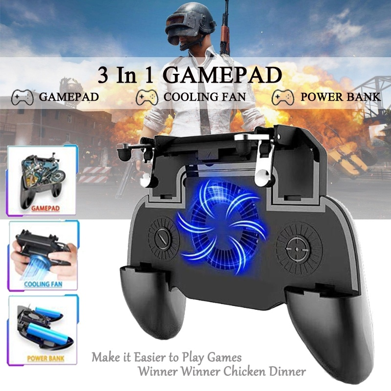Tonight Eat Chicken Mobile Phone Mobile Game Trigger Shooting Controller Pubg Fire Button Handle image