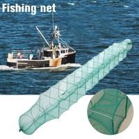 High Quality Square Fish Protection Non adhesive Durable Fish Net Fishing Supplies Glue Shrimp Cage Fishing Net