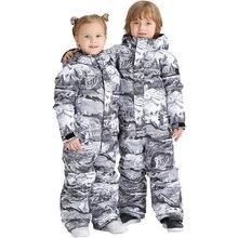 SMN Kids Boys Girls Winter Water-Resistant Breathable Windproof Warm Snowboard Suit Children Coat Outdoor Overall